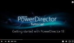 Getting Started With PowerDirector Tutorial