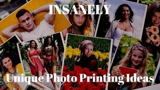 Unique Ways to Print Photos