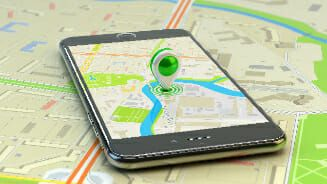 GPS enabled on cell phones