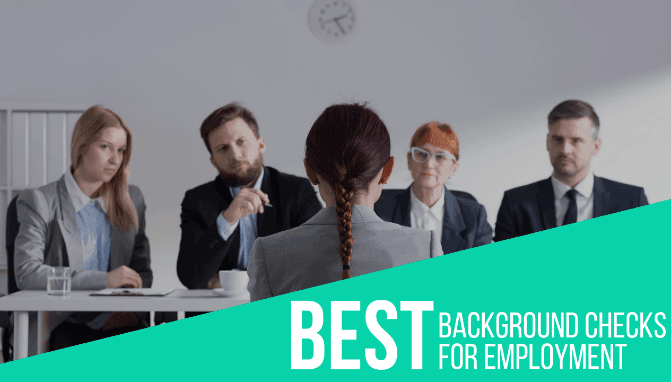 Best Background Checks for Employment
