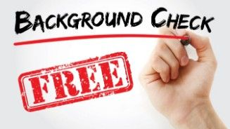 Background Checks For Free